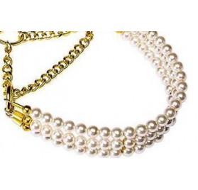 Conjunto de Correa y Collar de Perlas FERPLAST