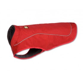 Coat for Dogs Cone Red K-9 Overcoat RUFFWEAR