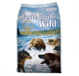 TASTE OF THE WILD Canine Pacific Stream with Smoked Salmon in Gravy