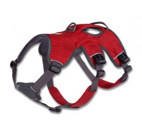 Web Master Harness for Dogs Red RUFFWEAR
