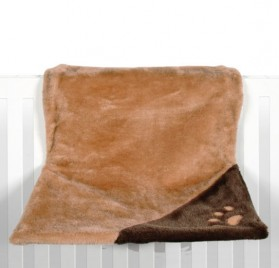 TRIXIE Radiator Bed, Plush - Brown