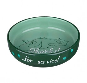 TRIXIECeramic Bowl for short-nosed Breeds 0.3l