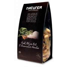 NATUREA Snacks Biscuit - Fish, Olive