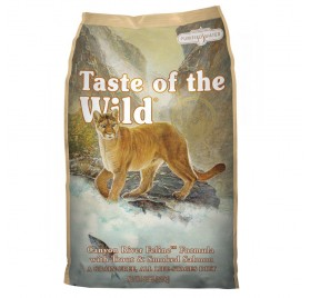 Taste of the Wild dry cat food with its grain-free formula