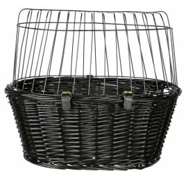 TRIXIE Bicycle Basket Black Willow