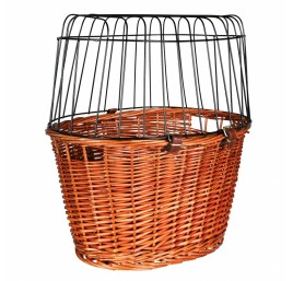 TRIXIE Bicycle Basket, Willow